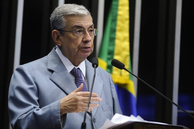 Plenário do Senado durante sessão deliberativa ordinária.  Em discurso, senador Garibaldi Alves Filho (PMDB-RN).  Foto: Moreira Mariz/Agência Senado
