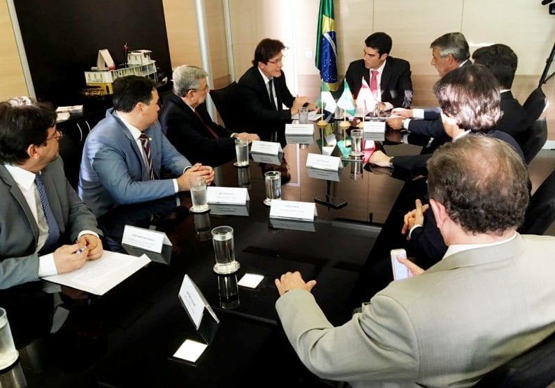 No Ministério da Integração, governador pede agilidade na liberação de recursos para obras hídricas no RN