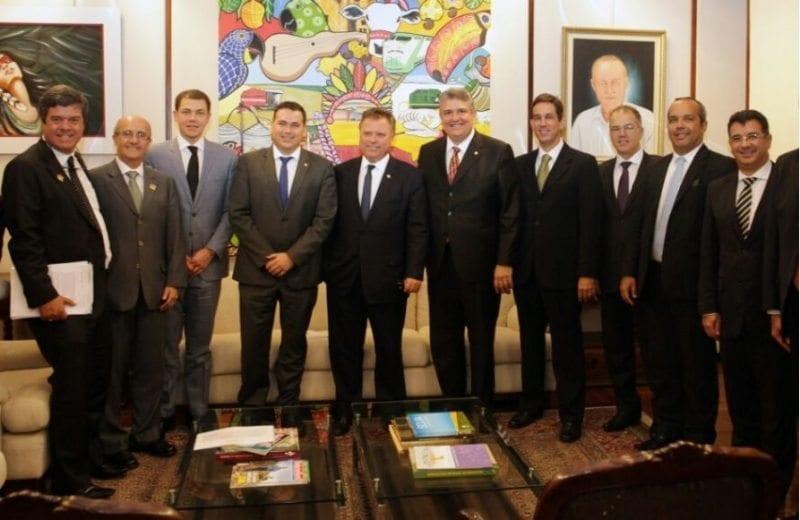 Deputado Beto Rosado tem reunião com Blairo Maggi para tratar da fruticultura