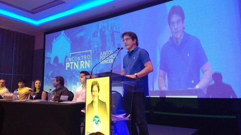 Em clima de eleições 2016, PTN promove encontro em Natal e confirma aliança com o PSD