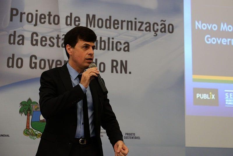 Secretário Gustavo Nogueira assume presidência do Conseplan
