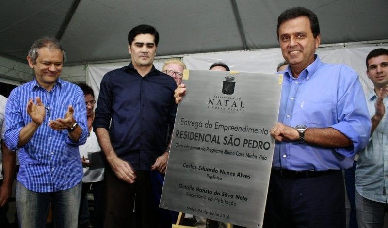 Entrega do Residencial São Pedro beneficia 200 famílias em Natal