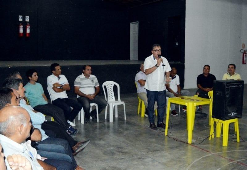 Cinco partidos anunciam apoio a pré-candidatura de Batata a prefeito de Caicó