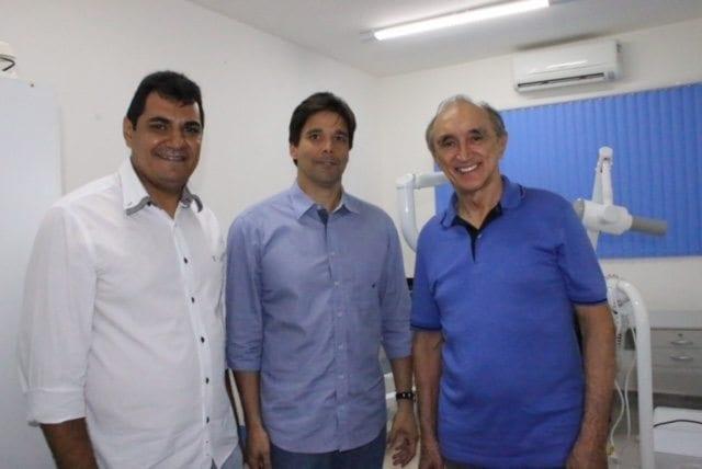 Felipe Maia e Getúlio Rego participam de inauguração em Itaú