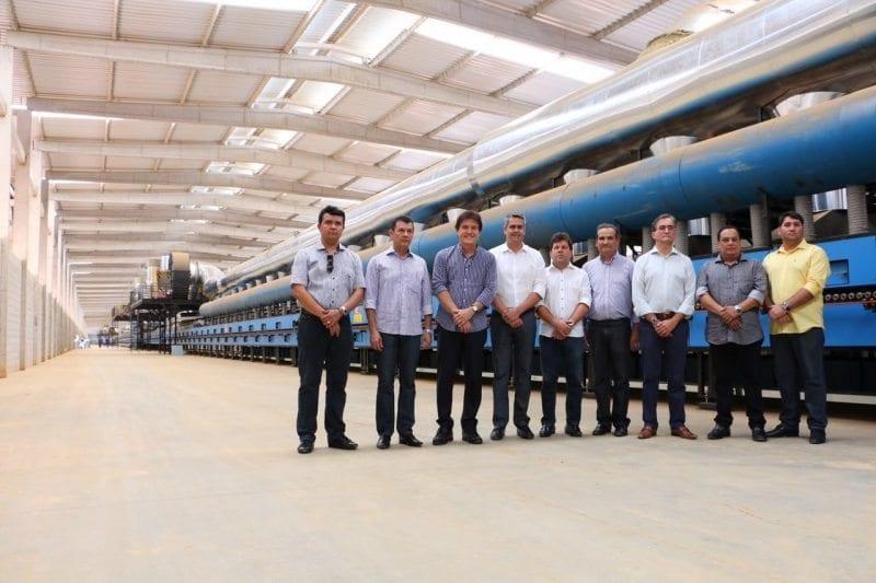 Governador visita Cerâmica Elizabeth e assina vinda de mais três indústrias para o Polo de Goaninha