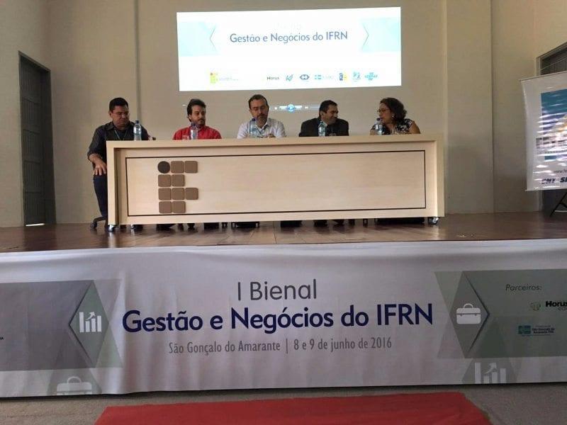 IFRN de São Gonçalo realizou I Bienal de Gestão e Negócios
