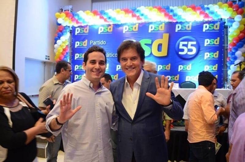 Em  fase de pré-campanha, Robinson Faria e Jacó Jácome participam de evento do PSD em Natal