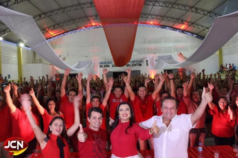 A convenção da prefeita Noeide Sabino em Equador, que tentará a reeleição
