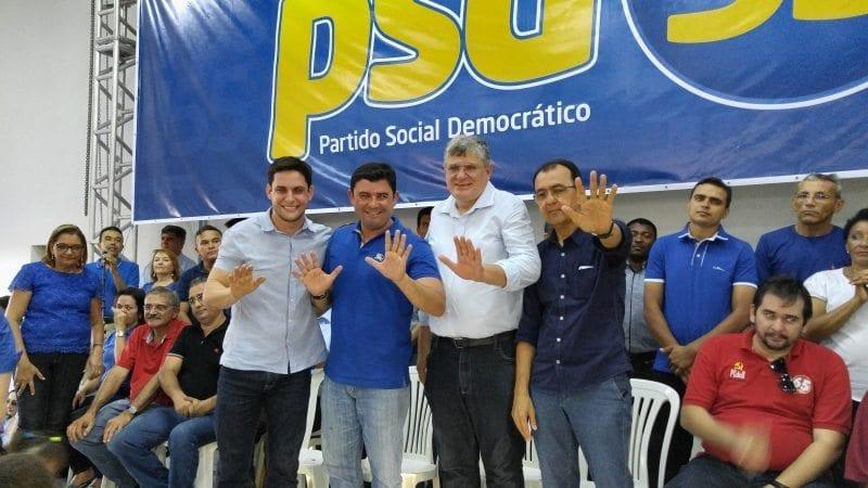 Deputado Rafael Motta participa de convenções em Vera Cruz, Canguaretama, Macaíba e Extremoz