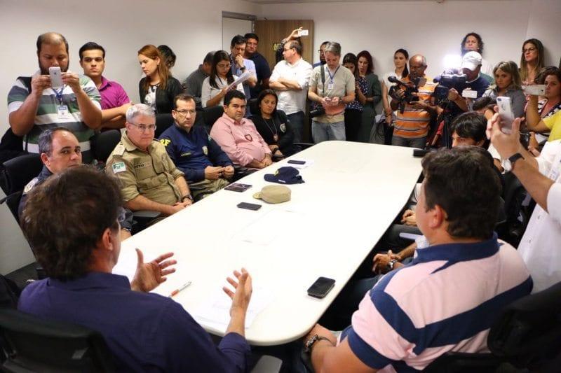 Governador confirma reforço de 1200 homens das Forças Armadas no RN