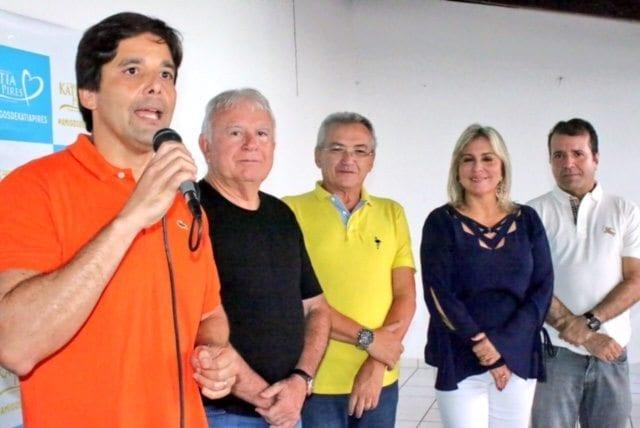 Deputado Felipe Maia participa de encontro do Democratas em Parnamirim
