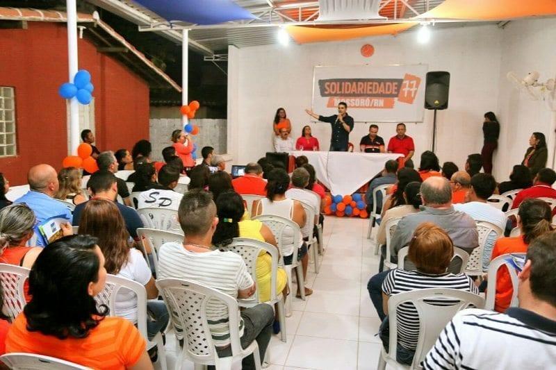 Solidariedade confirma apoio à pré-candidatura de Francisco José Júnior