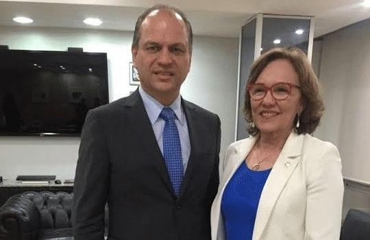 Deputada Zenaide Maia se reúne com ministro da Saúde