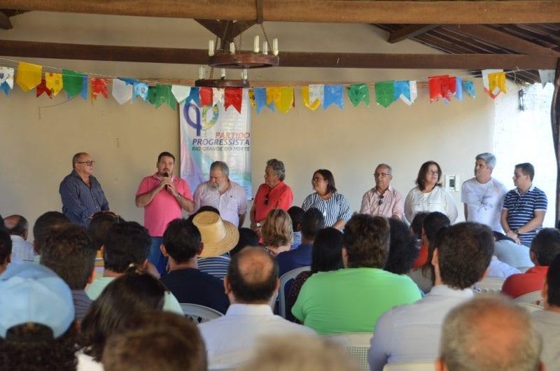 Pré-candidatos de 23 municípios participam de encontro do PP em São José de Mipibu