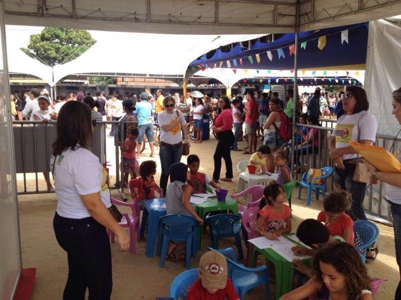 Educação de trânsito é trabalhada pelo Detran/RN durante o Vila Cidadã