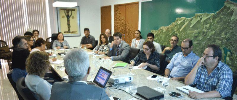 Governo do RN reúne-se com a Caixa Econômica Federal para avaliar contratos com recursos da União
