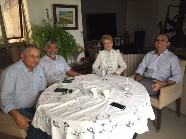 Wilma de Faria se reúne com líderes do PC do B