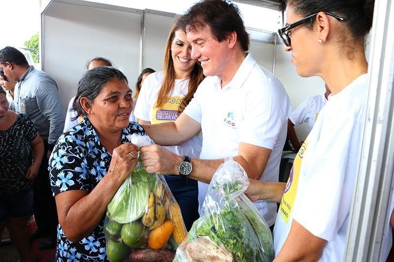 Durante o Vila Cidadã em Parnamirim governador anuncia instalação de nova unidade da Ceasa