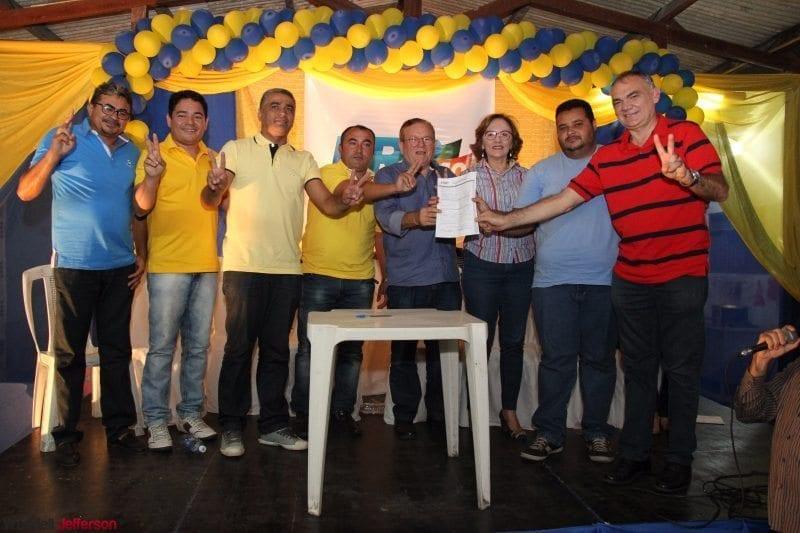 Deputada Zenaide Maia elogia união de partidos em ato de filiação do PRB
