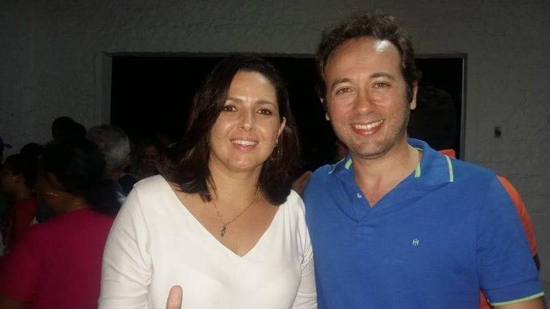 Em Nísia Floresta, Daniel Marinho anuncia Hallina Dantas como pré-candidata a vice-prefeita