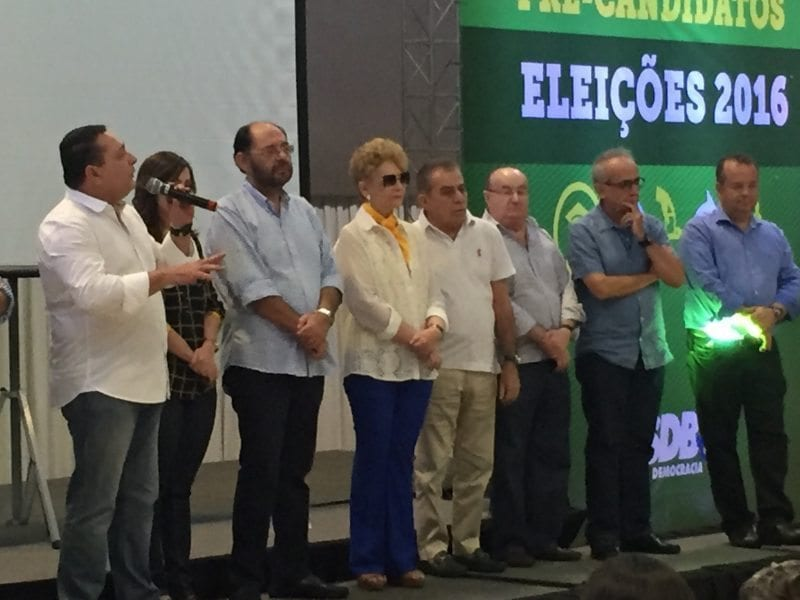 Wilma de Faria chega ao encontro estadual do PSDB