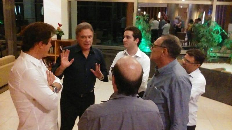 Senador do PV, Álvaro Dias cumpre agenda em Natal