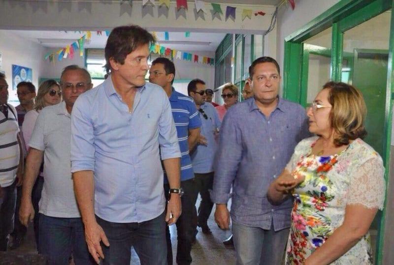 Em Currais Novos, Ezequiel leva governador Robinson para visita ao Hospital Regional e consegue ações emergenciais