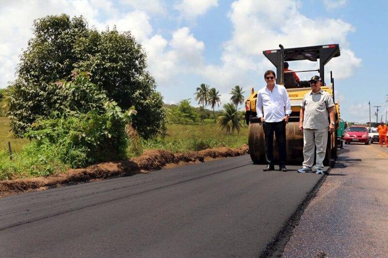 Governo inicia obras de restauração da RN-063 em Nísia Floresta