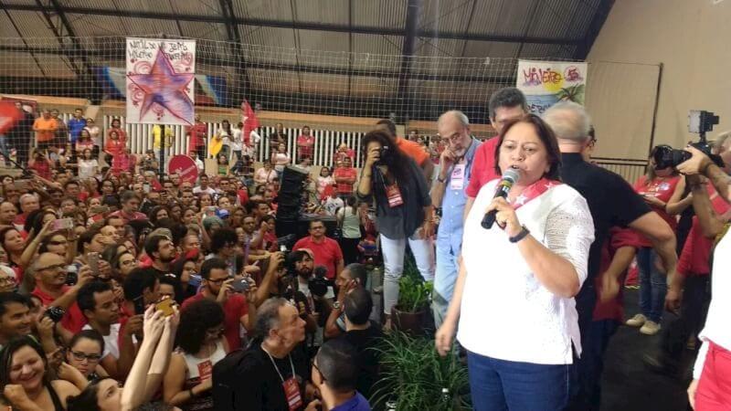 PT oficializa candidatura de Mineiro à Prefeitura de Natal em convenção com presença de Lula