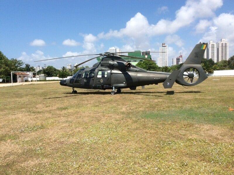 Helicóptero do Exército passa a operar na Operação Potiguar