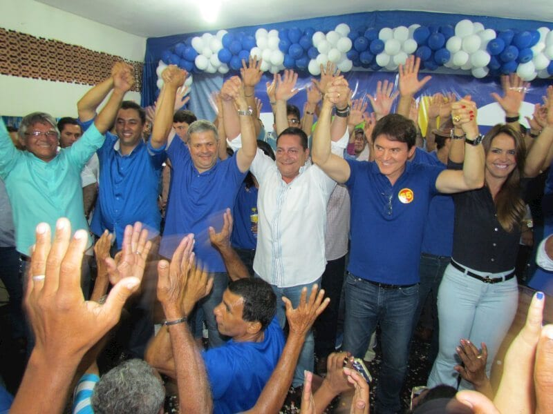 Ezequiel, Robinson e Geraldo Melo marcam presença na Convenção do PSD de Ceará-Mirim