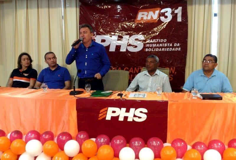 Convenção do PHS homologa 42 nomes para vereador e declara apoio a Kelps Lima para prefeito de Natal