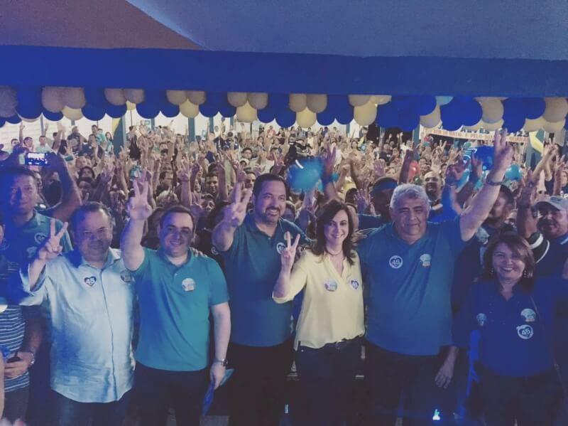 Deputado Rogério Marinho participa de mobilizações políticas em Natal e Nísia Floresta