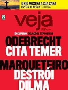 Capas e manchetes das principais revistas semanais brasileiras