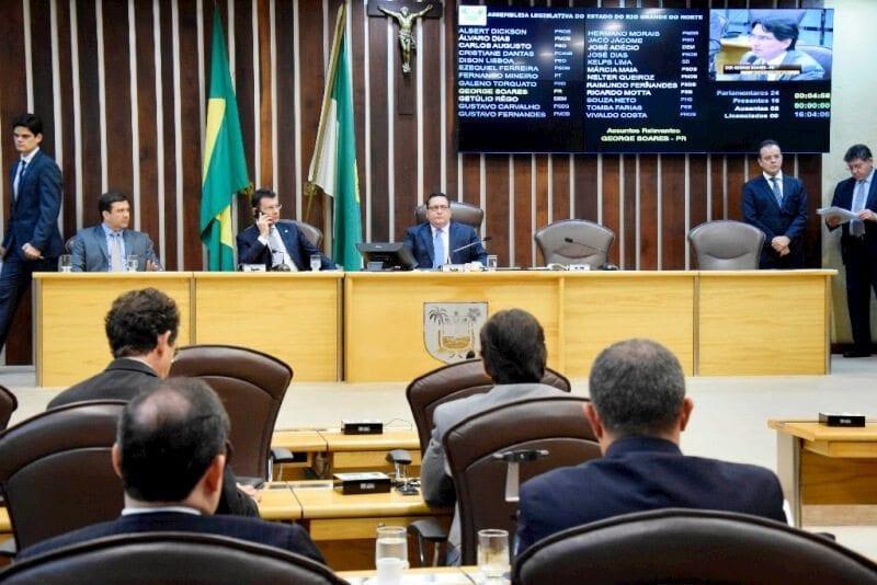 ALRN aprova projeto de lei que regulamenta recesso do Poder Judiciário