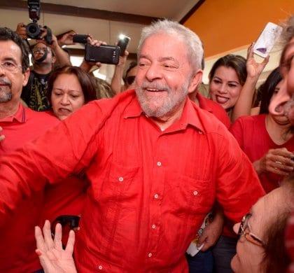 STF descrata liberdade de Lula em 2018
