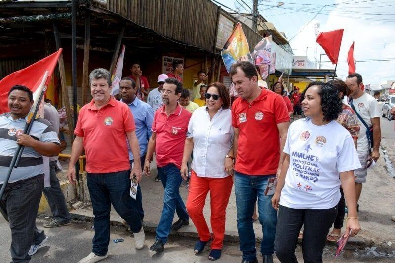 """""""Enfrentaremos todos os problemas, com muito trabalho"""", diz Mineiro em caminhada"""