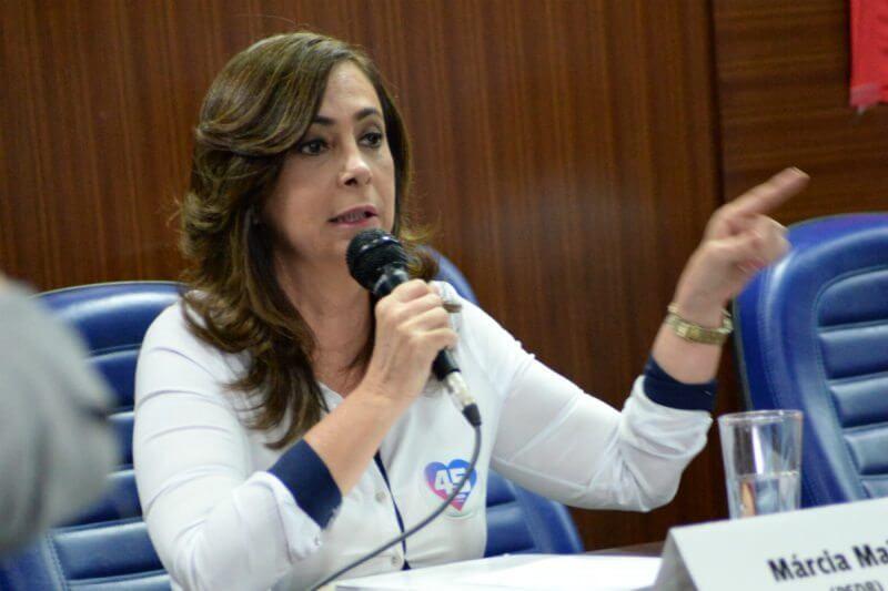 Sucessão em Natal:  Márcia defende valorização do servidor e apresenta propostas para Saúde em Natal