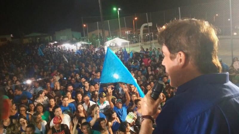 Governador participa de mobilizações políticas em Goianinha e Pedro Velho