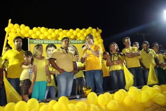 Felipe Maia e José Agripino participam de mobilizações políticas em Poço Branco e João Câmara