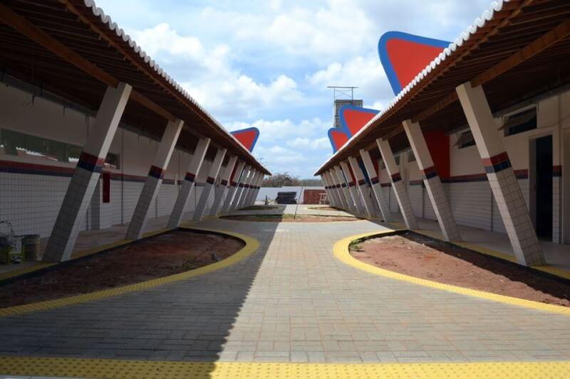 Obras do Polo Universitário de São Gonçalo estão em fase de conclusão
