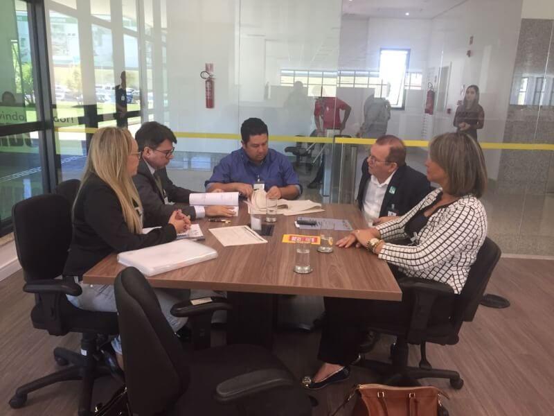 Prefeito Jaime Calado trata de emenda da deputada Zenaide Maia para ampliação da CASA ABRIGO