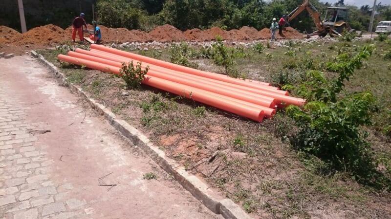 Prefeitura de São Gonçalo inicia obras de esgotamento sanitário do Novo Padre João Maria