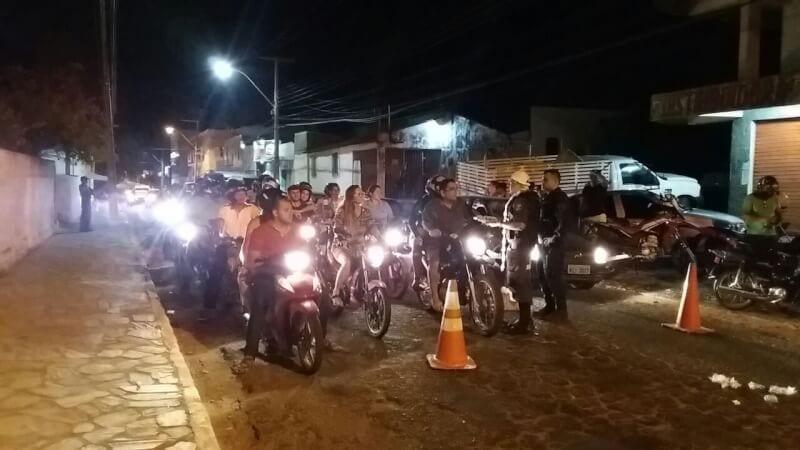 Detran realiza Operação Lei Seca e Bairro Limpo em Caicó