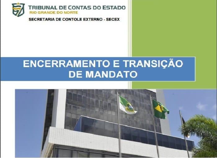 TCE reforça a gestores importância de consultar cartilha sobre encerramento e transição de mandato