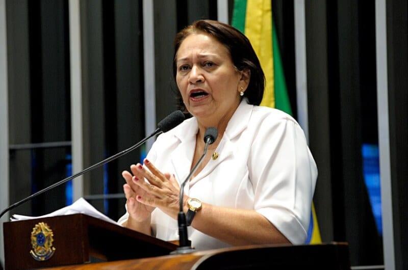 Depois das declarações de Robinson Faria, Fátima Bezerra ganha direito de resposta