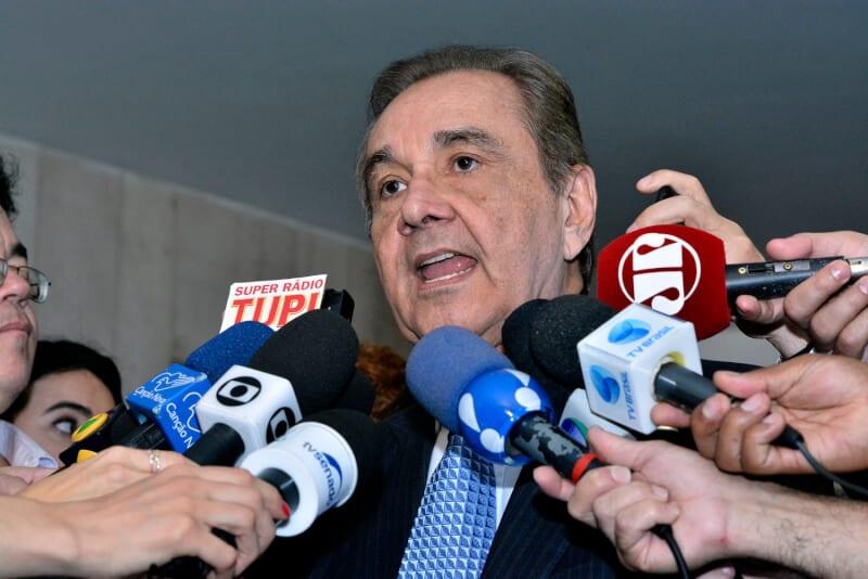 Ministro do STF quebra sigilo bancário do DEM em inquérito contra Agripino Maia