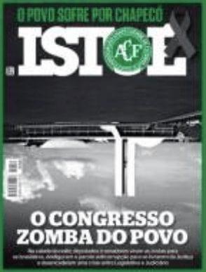 Manchetes e capas das revistas semanais