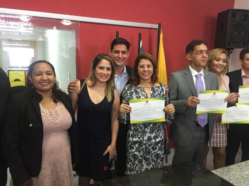 Prefeita Fátima Marinho, vice e vereadores são diplomados em Canguaretama