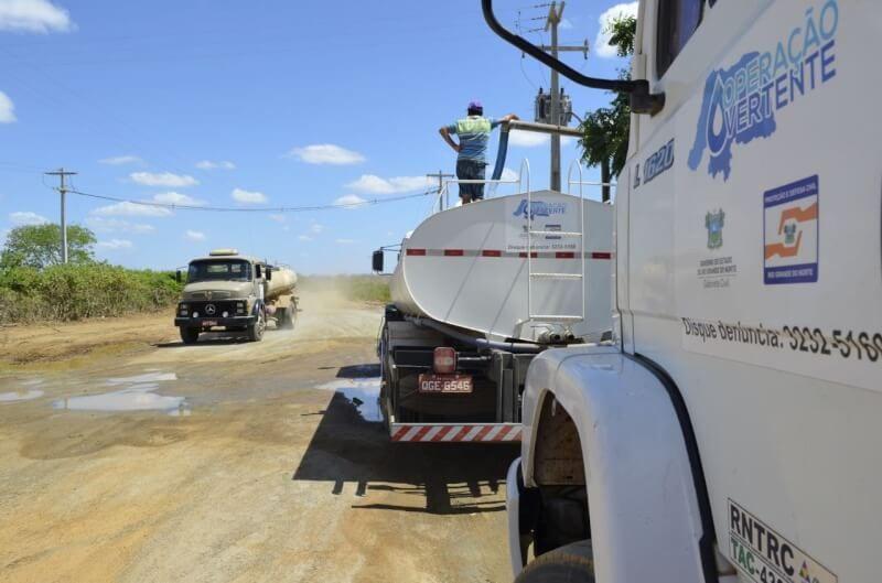 Rio Grande do Norte receberá R$ 9,4 milhões para Operação Carro-Pipa